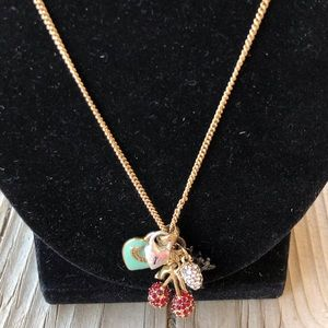 Juicy Couture Necklace with a Fabulous back drop!
